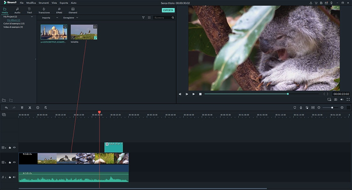 how to add text to a video in filmora video editor