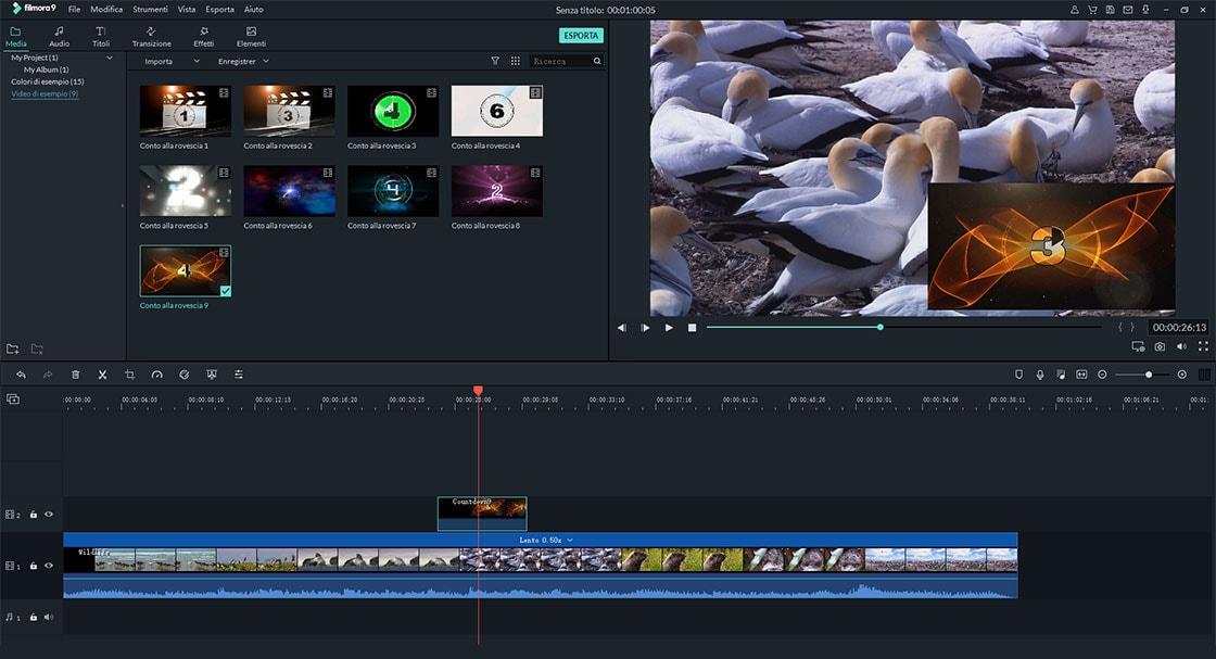 immagine in sovrapposizione video