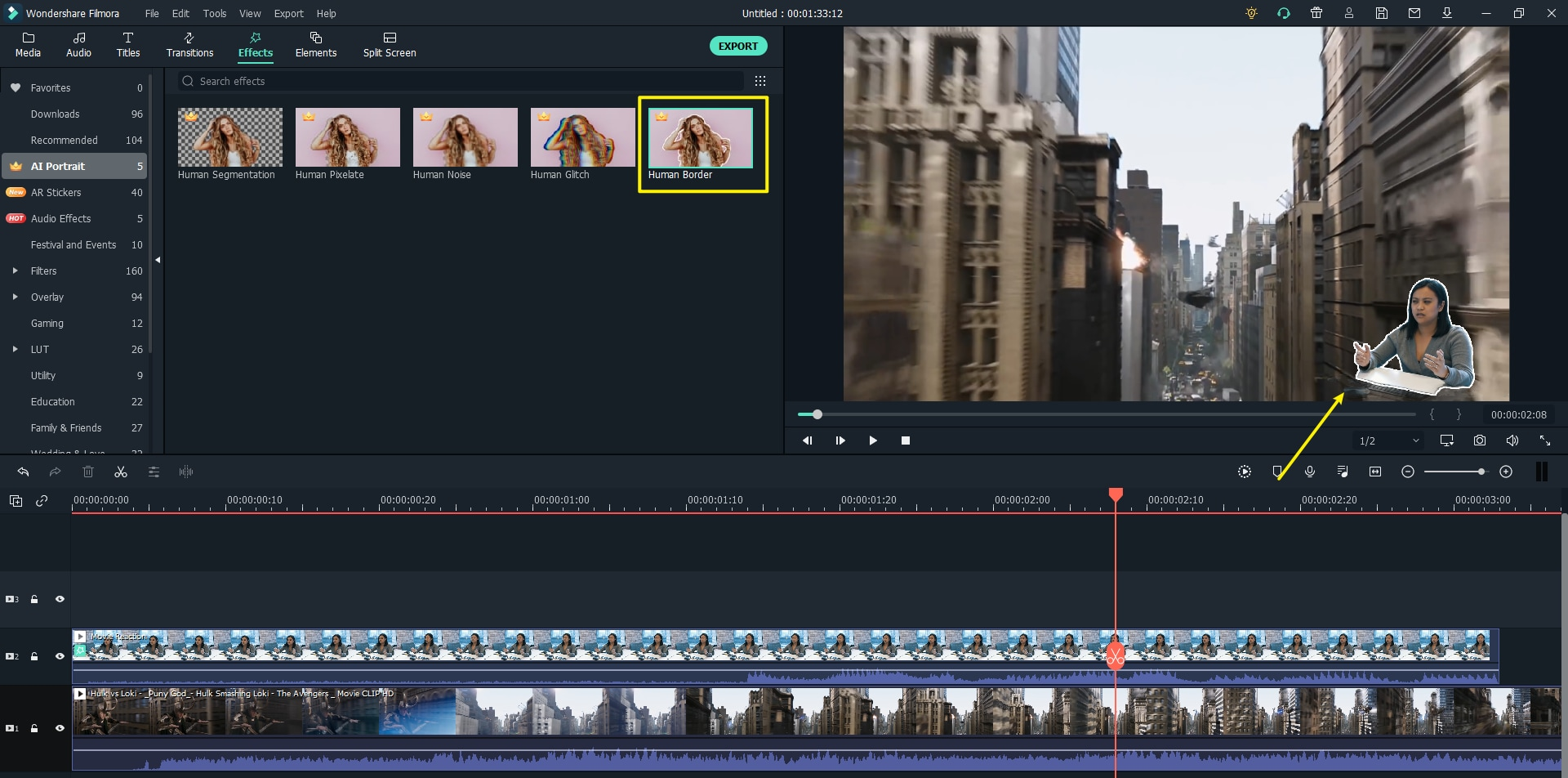 record a reaction video