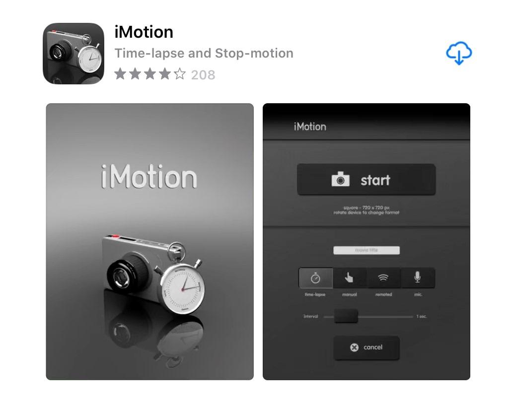 stop motion video app