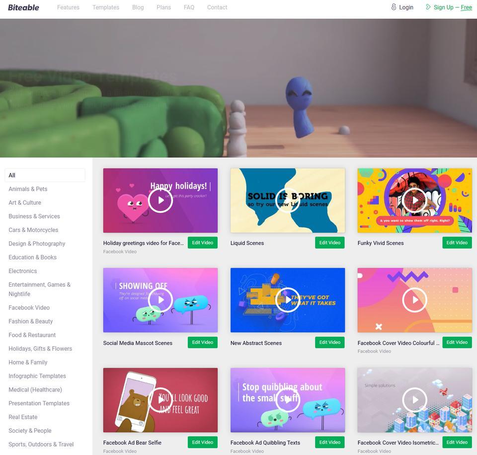 2d animation website