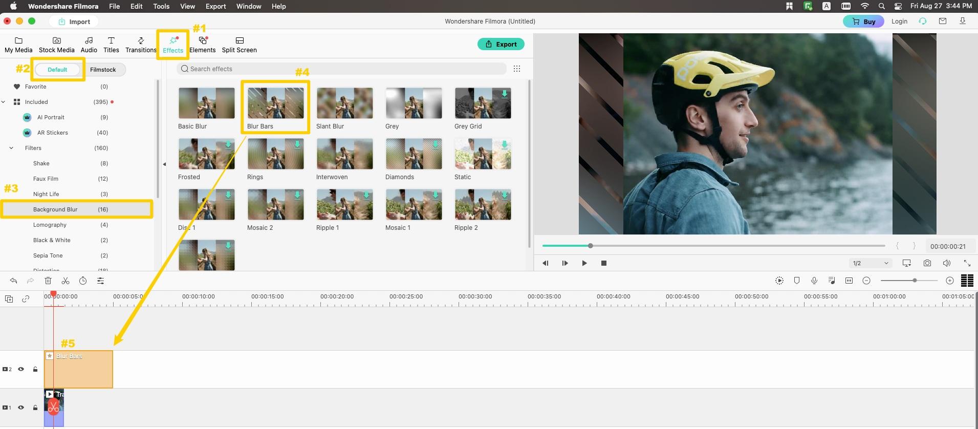 remove video black bar