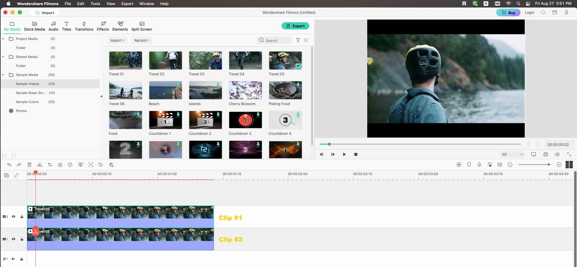 open filmora video editor for mac