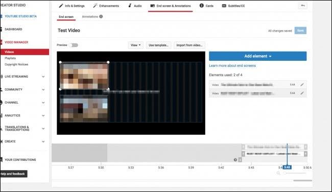 créer une carte youtube