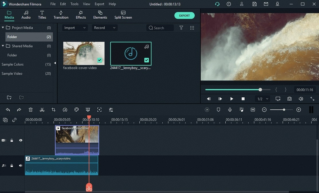 import video and audio files