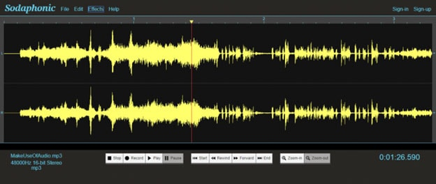 how to edit audio online without audio editor