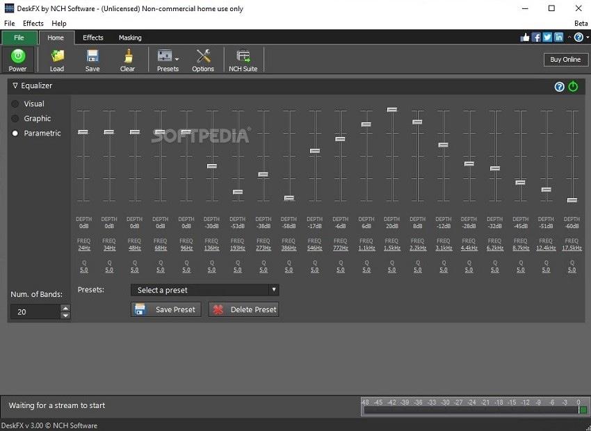 DFX audio enhancer software