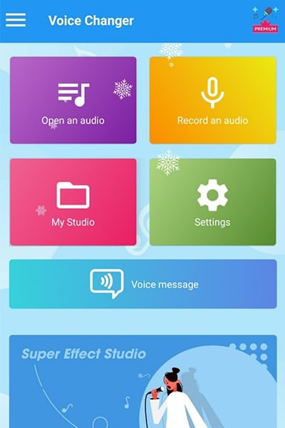 voice changer app with special audio effects