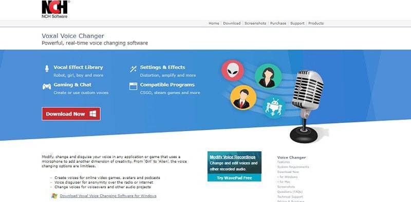 live skype teamspeak voice changer