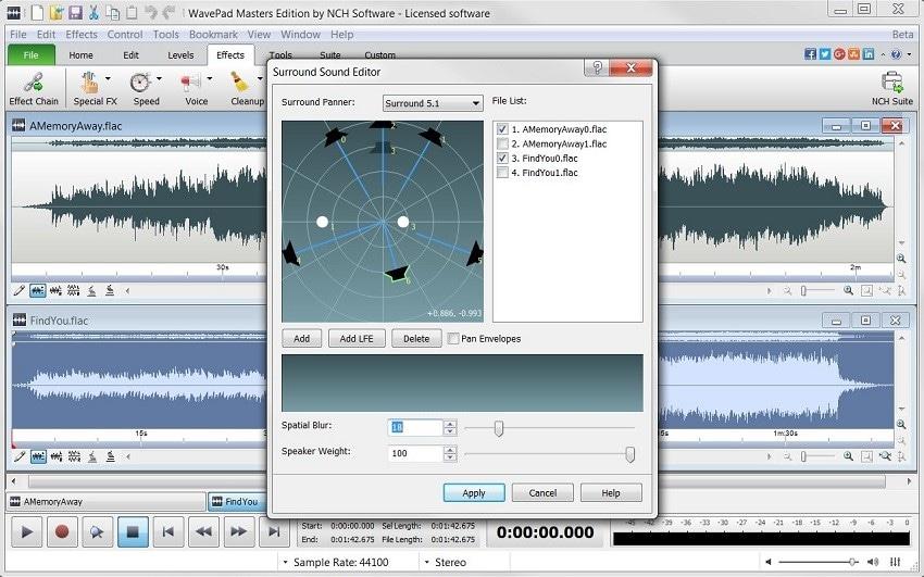 wavepad audio enhancer