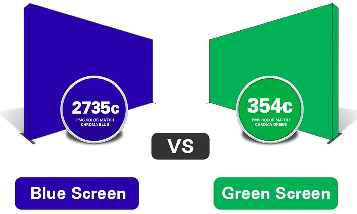 Blue Screen vs Green Screen: Difference and Selection