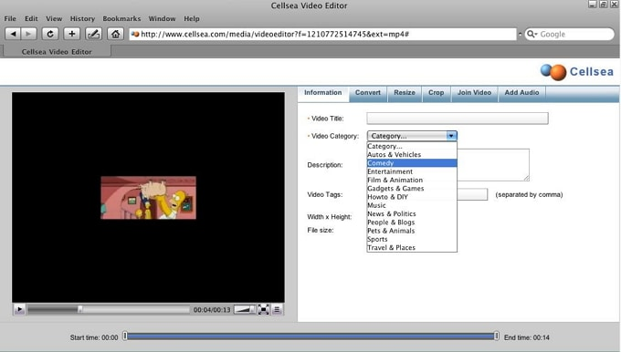 Cellsea Video Editor