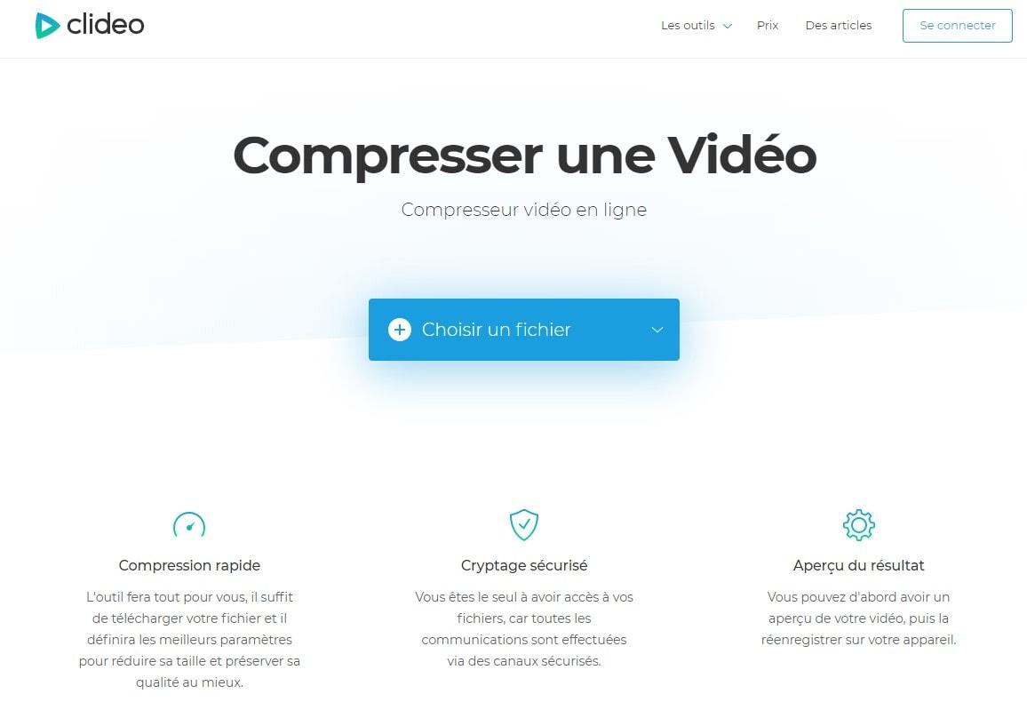 compresseur vidéo en ligne