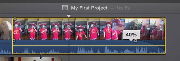 edit audio files in iMovie
