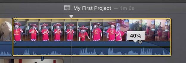éditer des fichiers audio dans iMovie