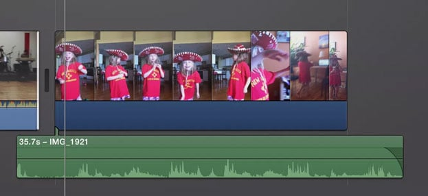 how to edit audio in iMovie