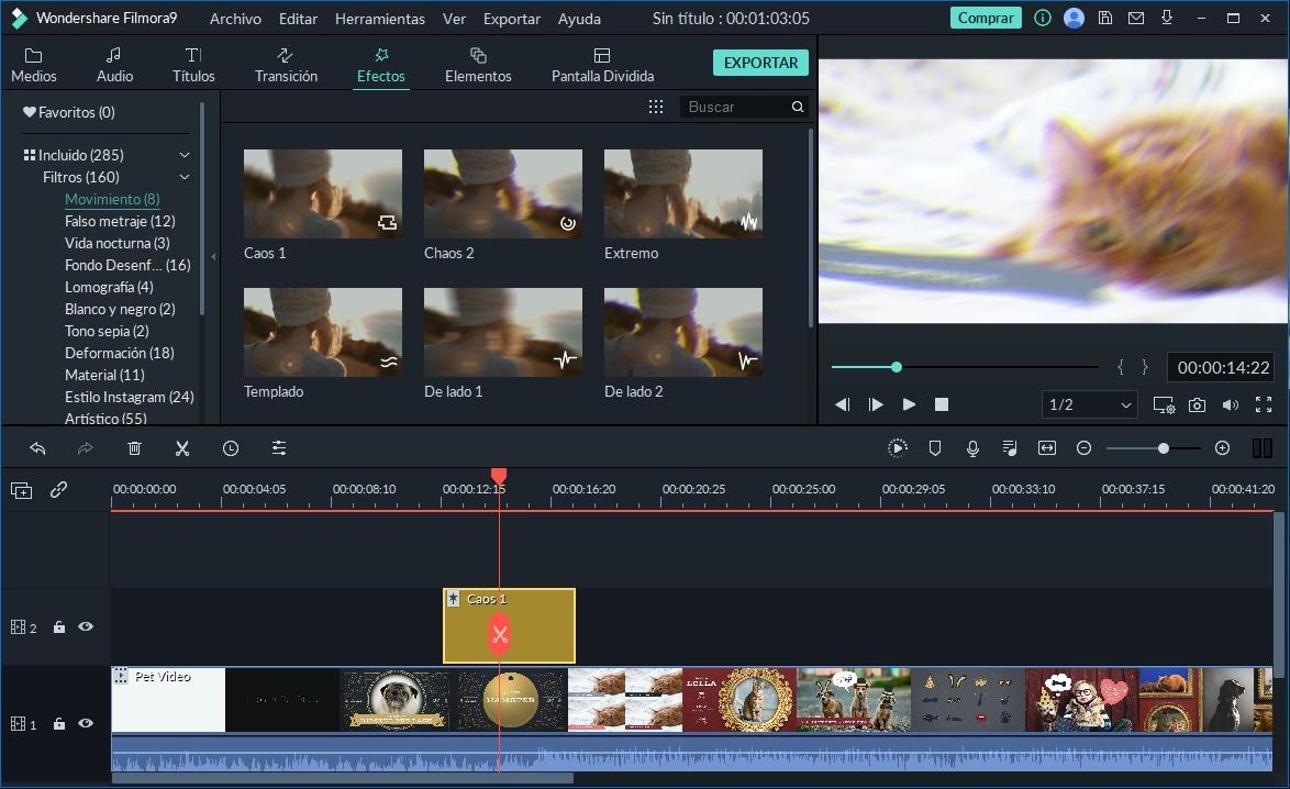 [2 Maneras para Hacer Efecto Shake] Cómo Crear un Video con Efecto de Movimiento