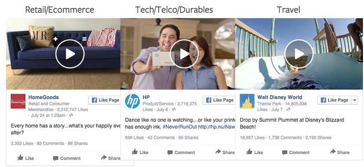 technical elements for facebook ad video
