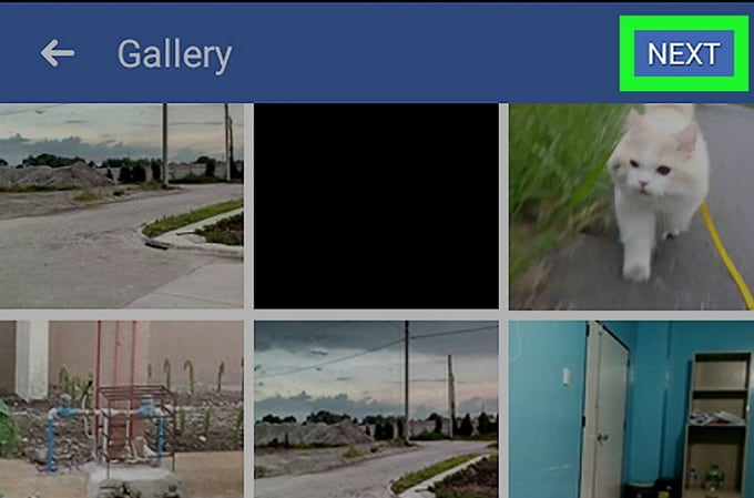 Facebook video collage maker