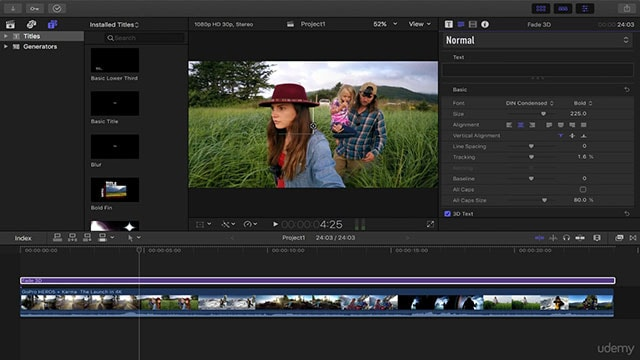 How to Add Text to Video in Final Cut Pro