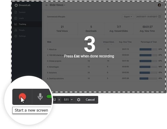 screen recorder and video editor