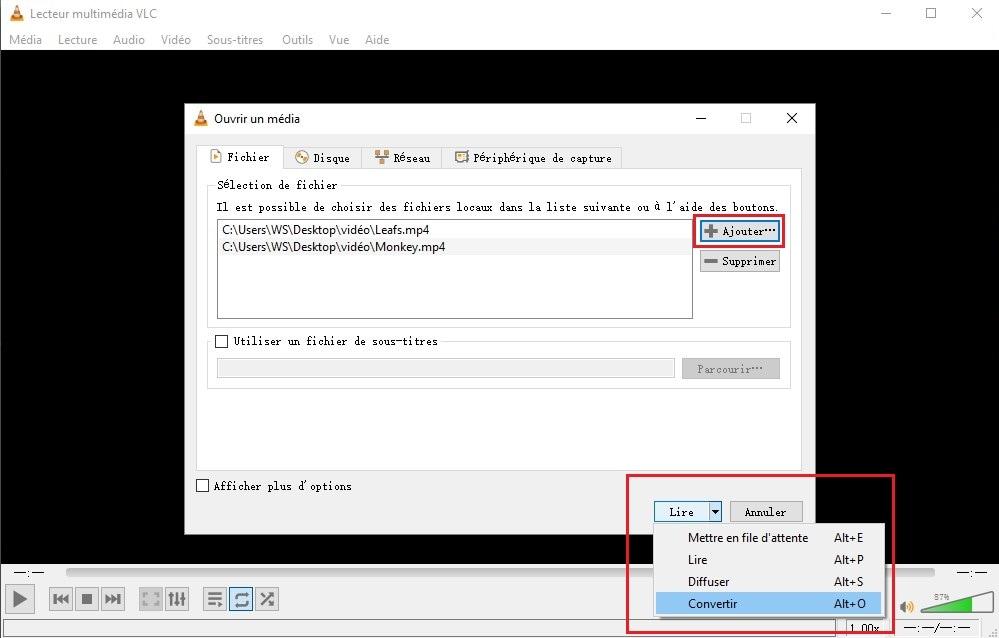 VLC pour l'assemblage vidéo : Comment fusionner des vidéos avec VLC