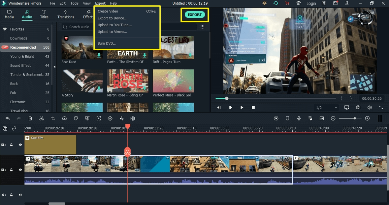 game-video-export