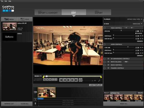 gopro studio edit software