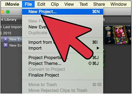 merging video clips in imovie