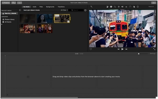 [Guide] How to Combine Videos on iMovie