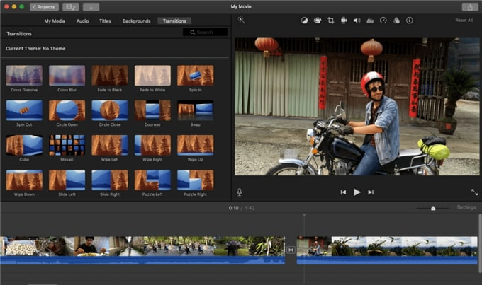 edit videos with imovie