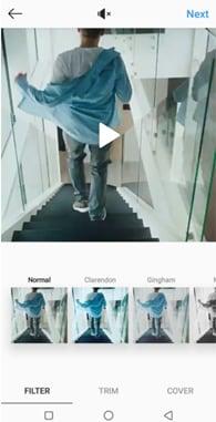 edit video instagram