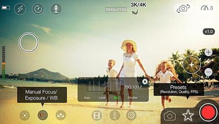 enregistrer une vidéo avec iphone