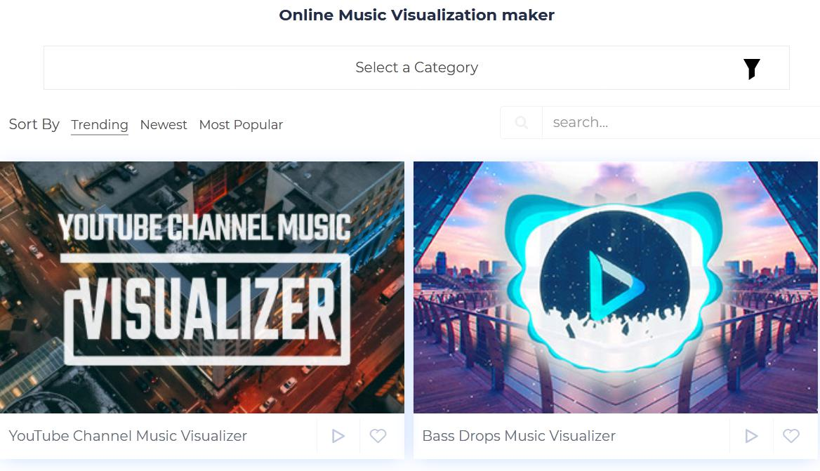 music visualizer online
