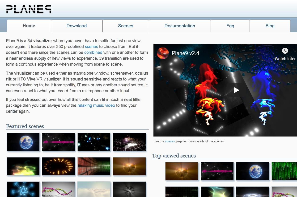music visualizer software