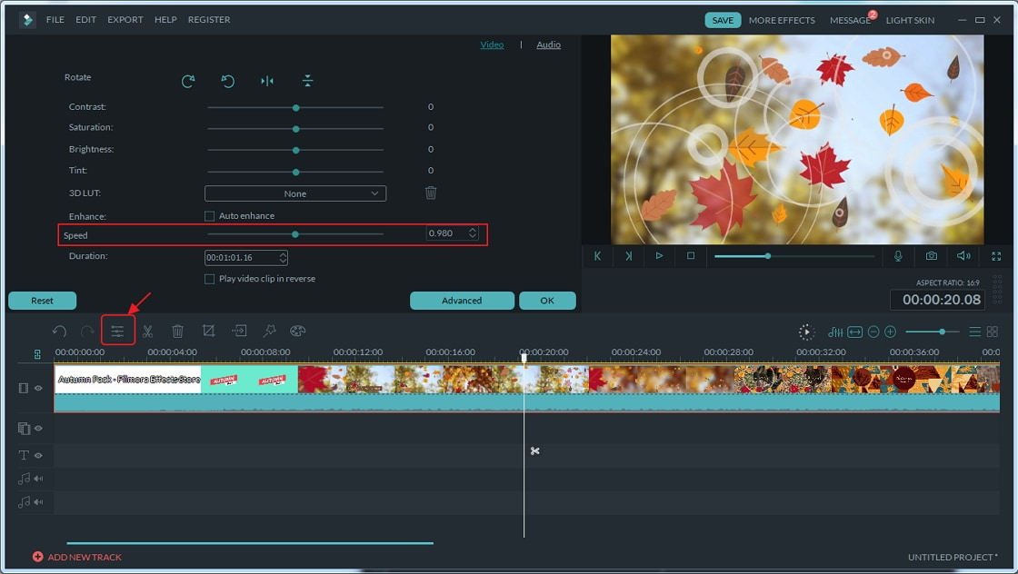 Part 2: How to speed up or slow down videos in iMovie 9/11