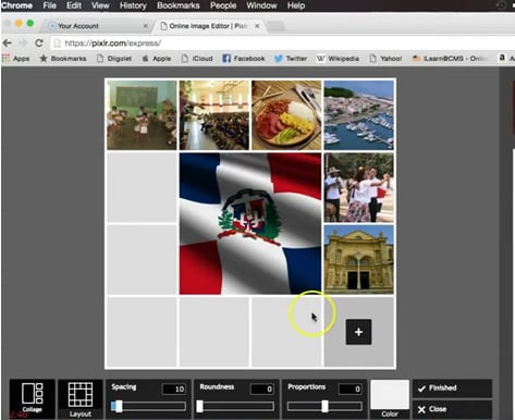 free split screen photo tool online