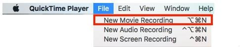 record video on mac webcam