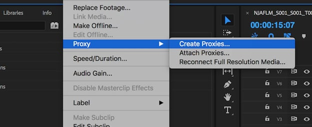 reverse video footage in premiere pro