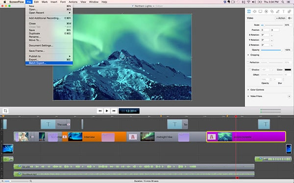 video recording software mac
