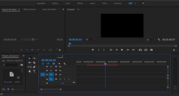 import video file