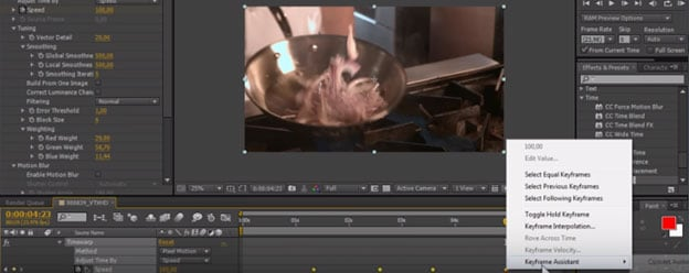 after effects zeitlupe