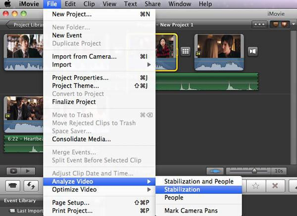 stabilize shaky video imovie