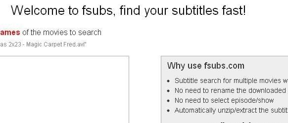 Téléchargement gratuit de sous-titres