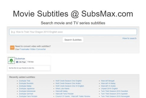 free subtitles download for movies