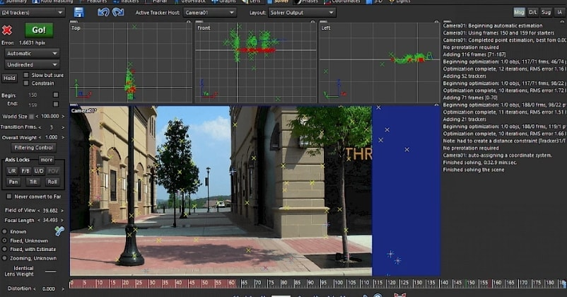 syntheyes motion tracking