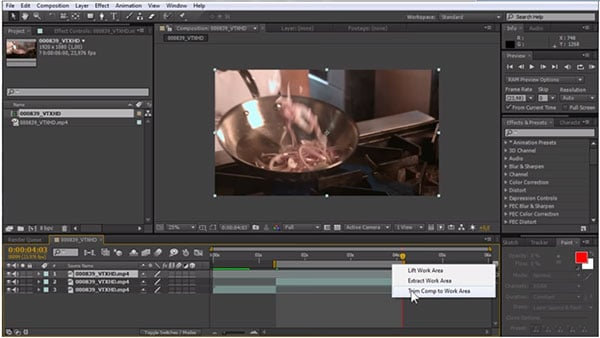How to Trim Video on Adobe After Effects