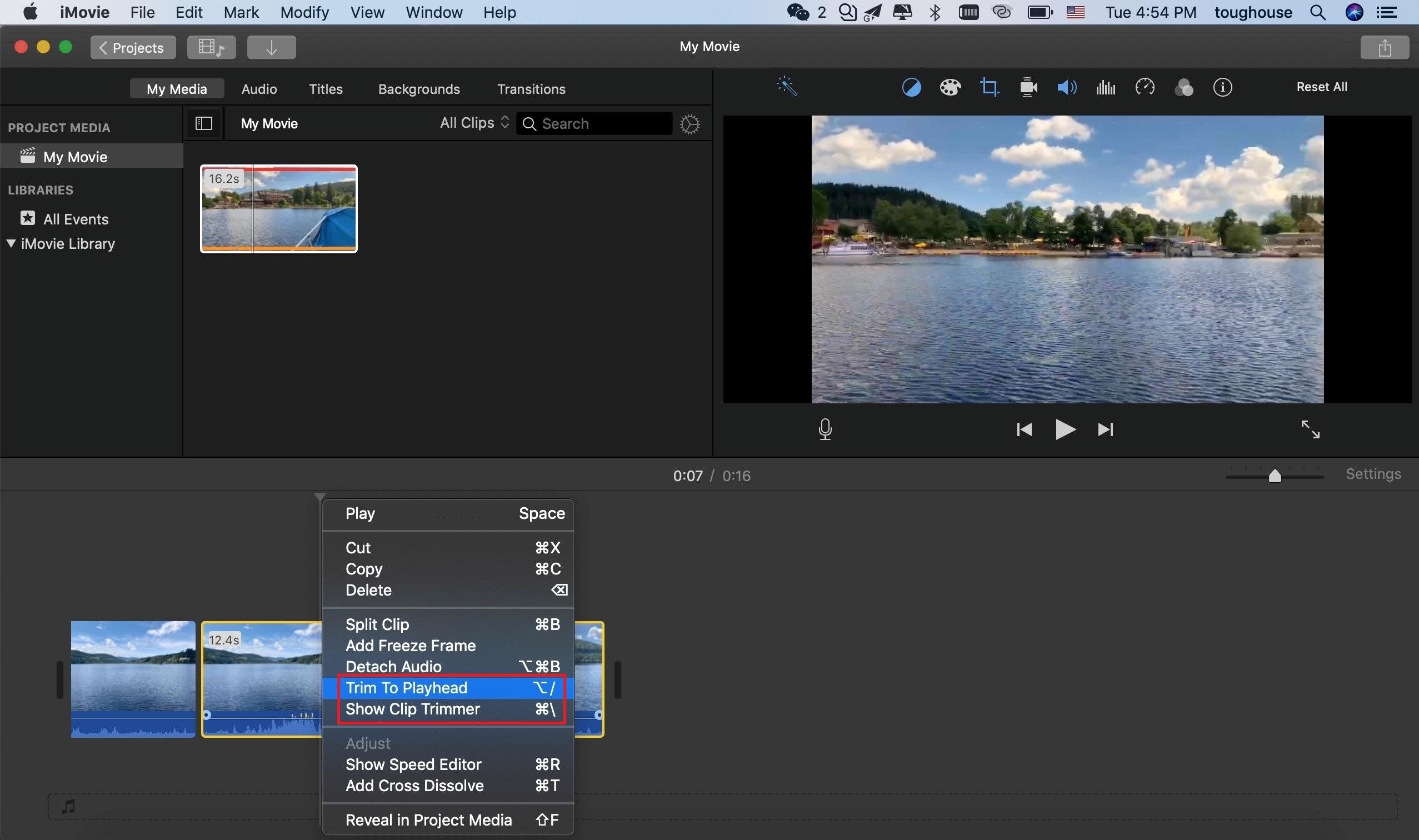 [Tutoriel étape par étape] Comment redimensionner une vidéo dans iMovie