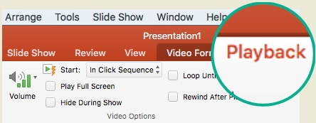 trim video option in powerpoint