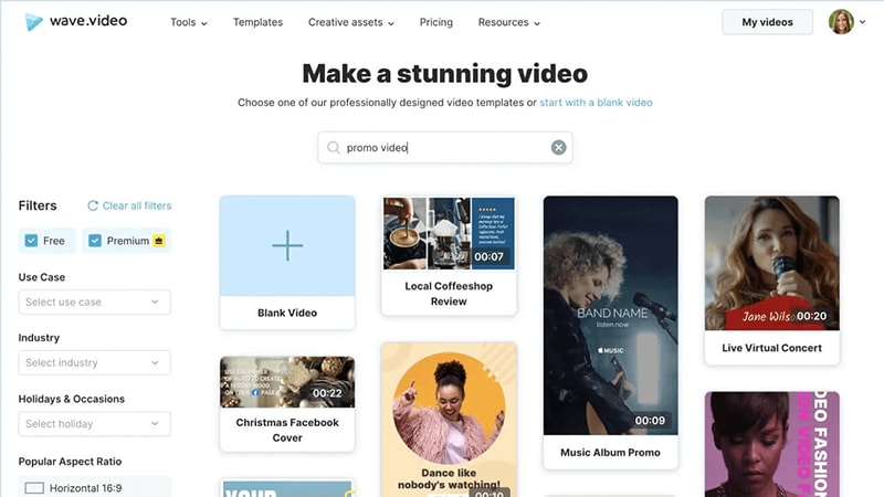 =wave video online mp4 editor
